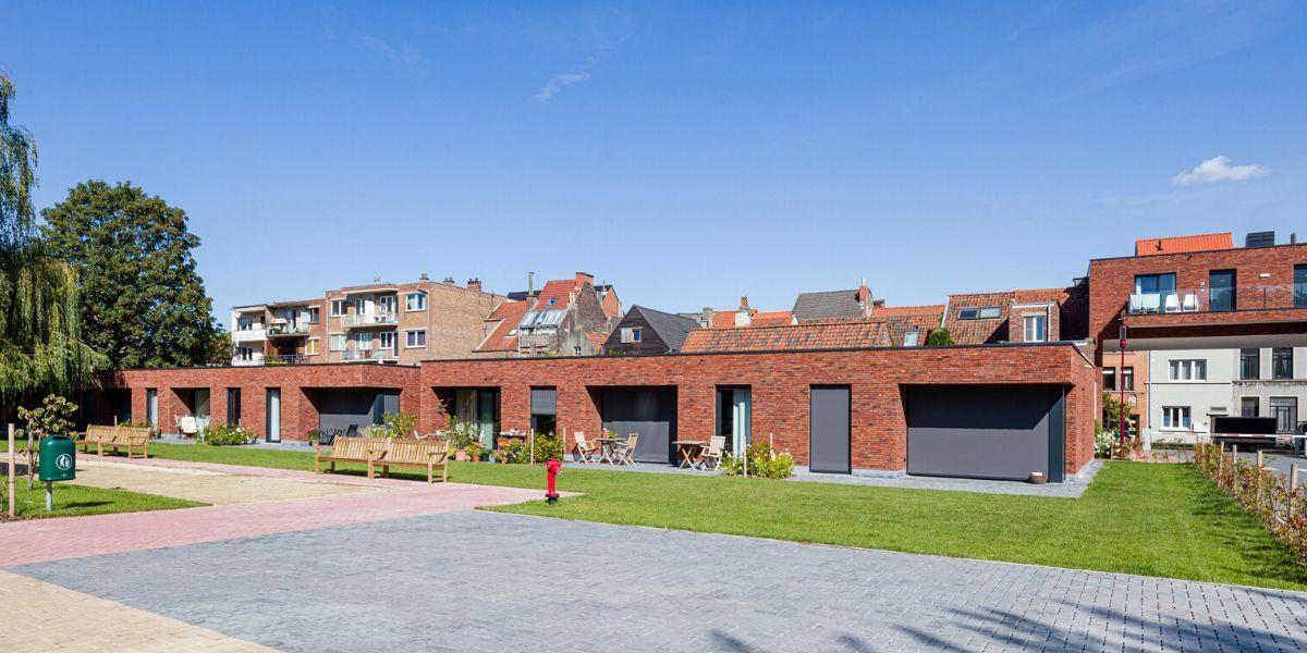 Tuin biedt rust in residentie 'Dorp in de stad'