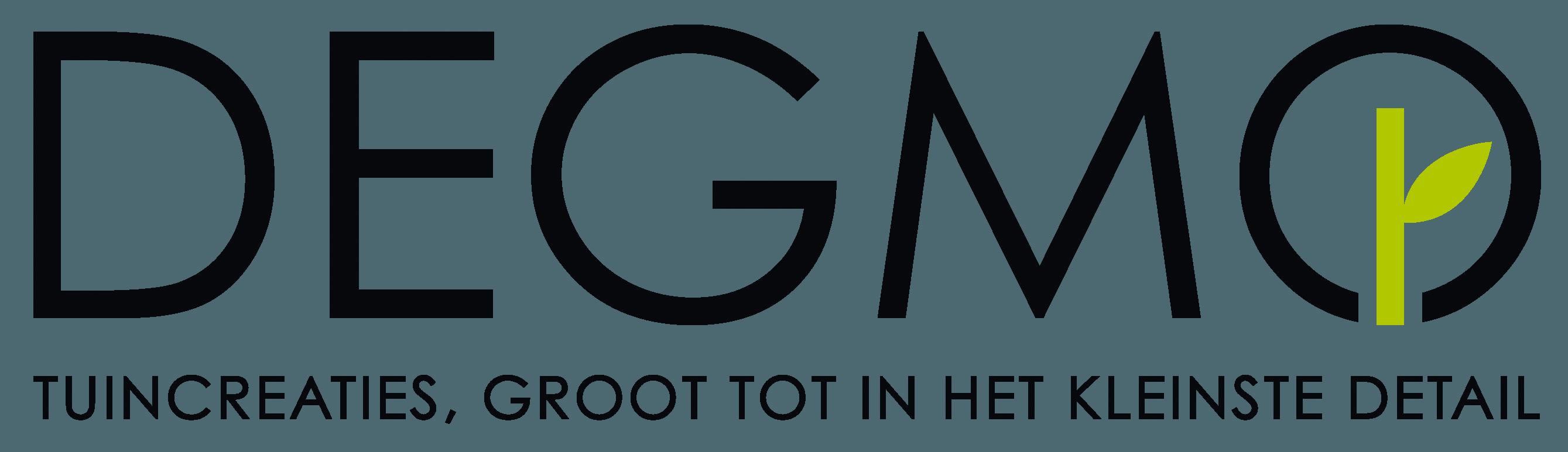 Trots op het nieuwe Degmo logo